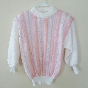 Sweaters - Size L Vintage Shoulder Pads Sweater